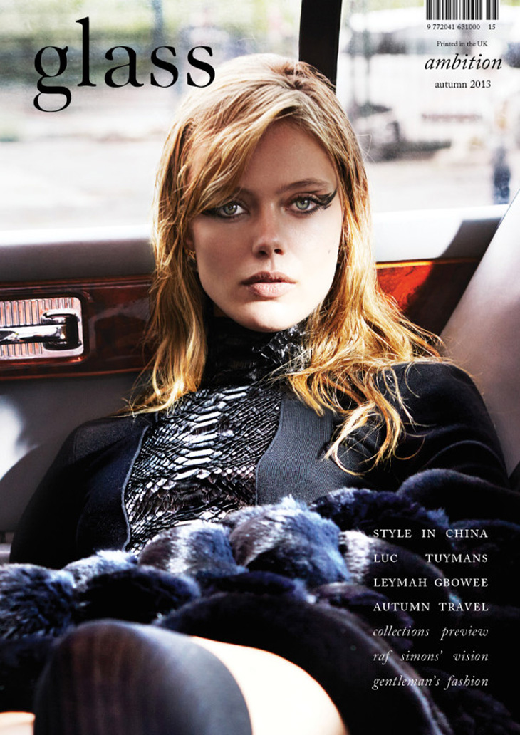 Frida Gustavsson in Gucci for Glass Autumn 2013
